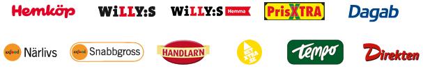Axfoods olika butiker
