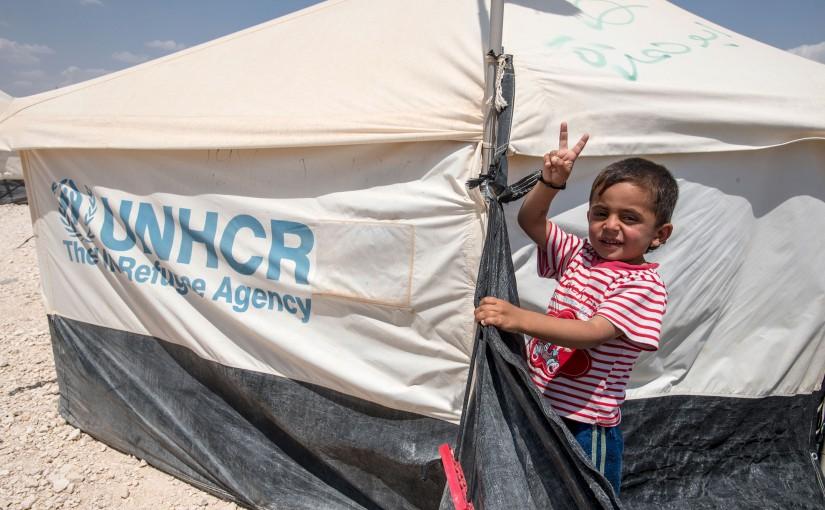 Julinsamling till UNHCR